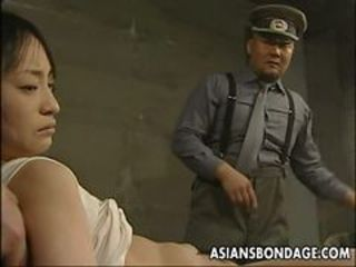 Army Asian Bondage Prison