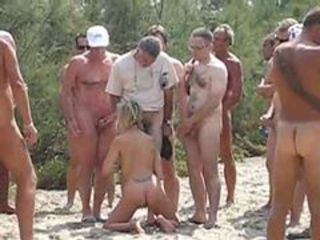 Wife used by 20 strangers at nude littoral