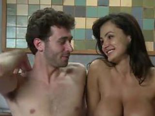 James Deen Ties Lisa Ann Up until screwing Her Mouth An...