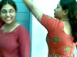 Girls Great fun Video in Hostel CONTACT NOW 080827433...
