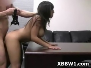 Pretty young girl in porn casting part 4 free