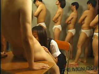 Bukkake Highschool Lesson 7 1/4 Japanese uncensored b...