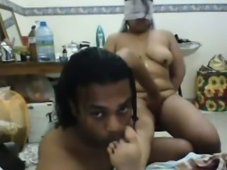 Indian Couple Beside A Live Cam Sex Happening