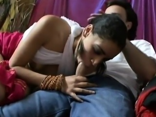 Young Indian beauty with a sweet hairy pussy