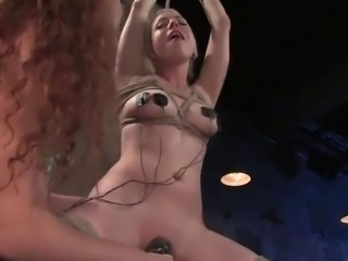 Sabrina Fox Is Charging Lorelei Lee around Electrodes