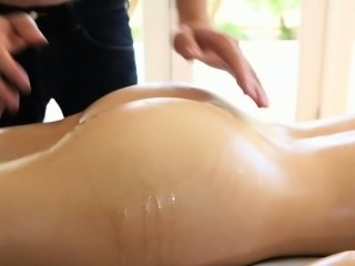 Steamy sexy massage for kitty