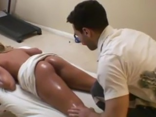 Vigorous fucking not far from Dirty masseur