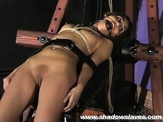 Sahara Knite humiliating face bondage and spanked