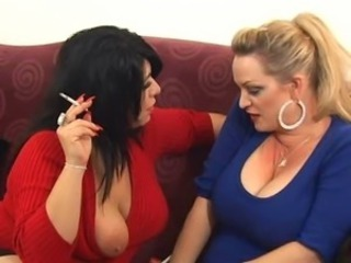 Chubby Fetish Lesbian  Natural Smoking