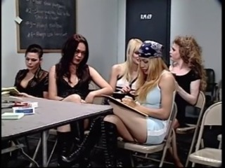 Tranny teacher and her followers