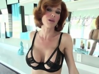 Sexy Veronica flashes boobs with seduce