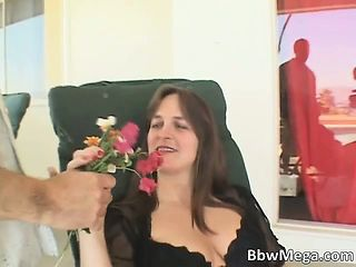 Nasty Fatty Brunette Slut Sucking Unending Part4
