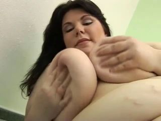 Plump BBW Shows Her Shove around Sexy Crowd N Masturbates