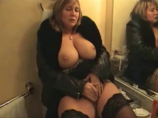 British Milf hotel room