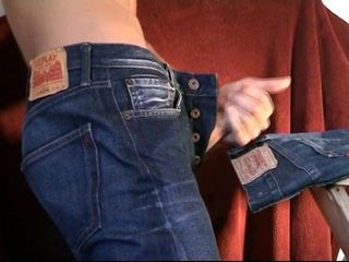 Replay vs. Levi's Jeans - Ultimate Cumshot