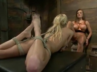 Nika Noire toys masochism  around Victoria White inside Terrific sadism activity