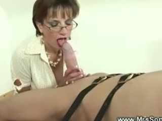 Prodomme gets weird on a cock