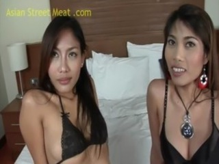 Thai Threesome Noy And On free