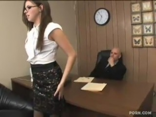 Hot secretary Missy Stone fucked by will not hear of boss free