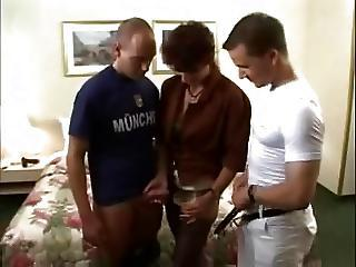 Brunette Gangbanged And Fucked All in all Holes