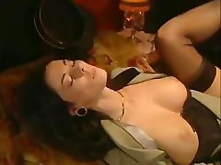 Italian Rich Glamorous Wife Being Fucked By Perverted Train Conductor%21