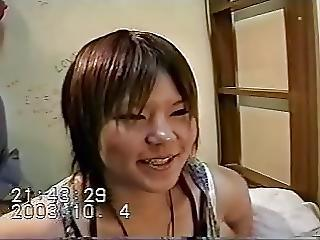 Young Japanese Chubby Madoka 19 Years Old Creampie