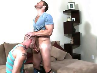 Muscular Athlete Getting Ass Pounded