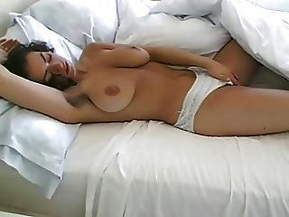 Big Natural Tits And Hairy Pussy