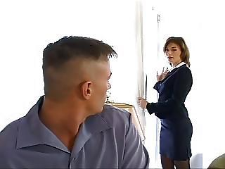 Sandy Pleases Her Boss