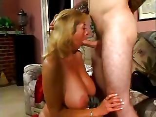 Busty Mom Fucks Younger Man
