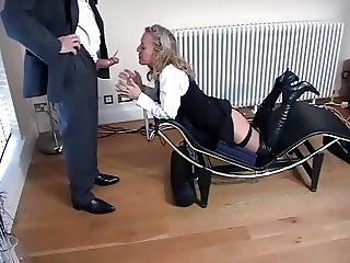 Hot Milf In Thigh Boots Is Addicted To Spunk