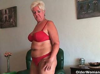 This is why grandma loves doing housework _: amateur bbw grannies matures milfs
