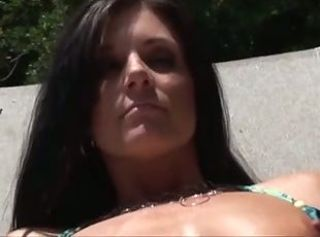 Sex with a shiner pool _: milfs