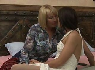 Am I Making You Nervous _: cunnilingus fingering lesbians old+young pornstars