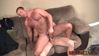 Hairy Straight Guy Gets His Ass Fucked Part3