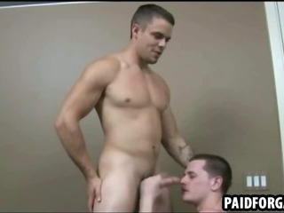 Straight Guy Sucks Cock And Gets His Ass Fucked