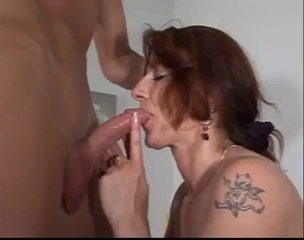 German Hairy Mom Gets A Hard Fuck With Y...