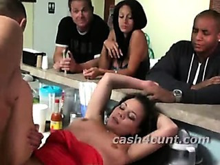 Brunette Sells Pussy To Fellow-feeling a amour A Stranger...