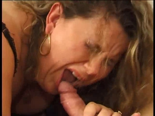 Blowjob Mature Pain Threesome