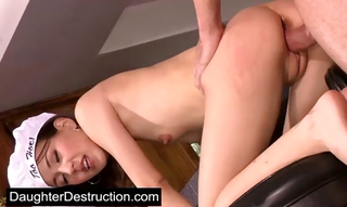 Young Teen Roughly Inches Of Huge Cock