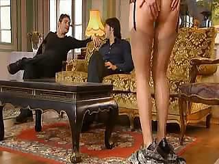 Hot Mom does her son and friend for...