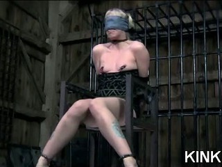 Kinky Babe Bound And Spread