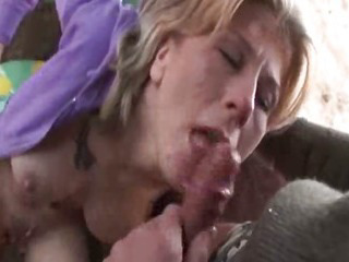 Swedish Girl Takes Cum Deep