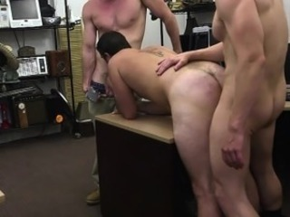 Simple guy hardcore anal pounding