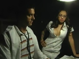 Smoking Sexy Doctor Is banged By Her Assistant Under A Influence Of Weed