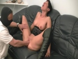 Sexy Dabbler milf fist banged by A builder