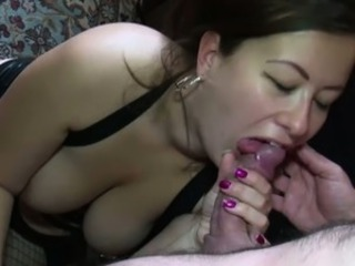 Husband anally fucking chubby wife