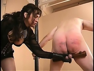 Extreme dominatrix weird cock and balls torture
