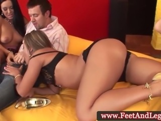 Highheel loving Carmen in ffm fun with Valentina Velasques