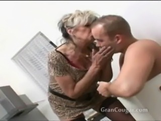 Sexy old granny wants him now a ... free